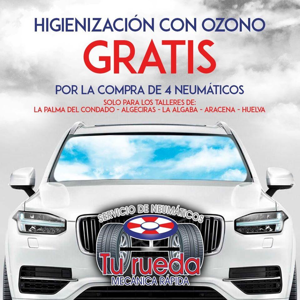 talleres de neumáticos en Andalucía