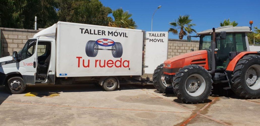 taller móvil de neumáticos Tu Rueda