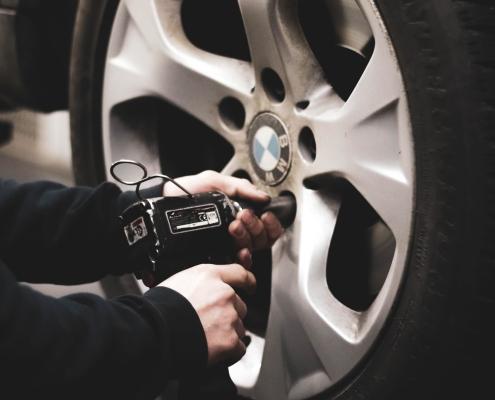 cambio de ruedas