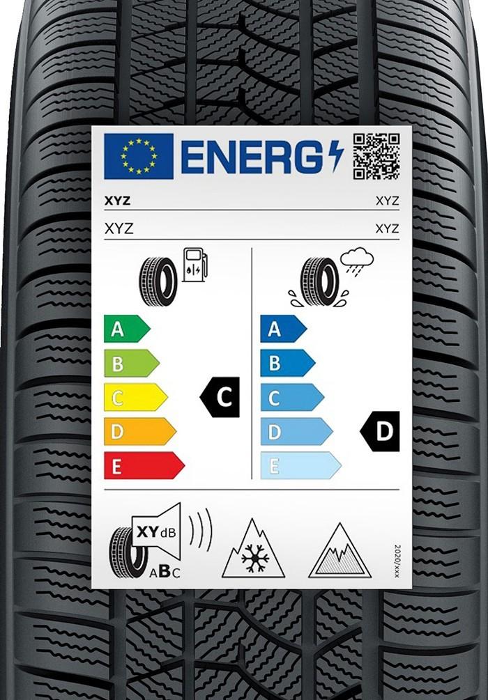 etiquetado neumáticos